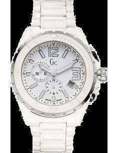Chic Time | Montre Homme Guess Collection X76015G1S Blanche Guichet et compteurs dateurs  | Prix : 875,00€