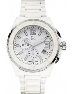 Chic Time | Montre Homme Guess Collection X76015G1S Blanche Guichet et compteurs dateurs  | Prix : 875,00 €