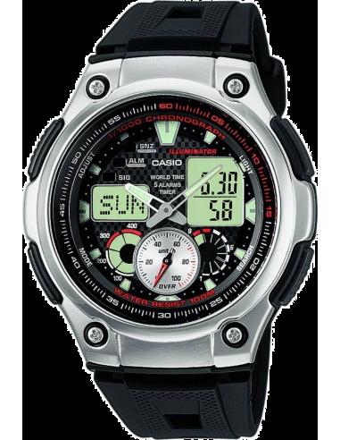 Chic Time | Montre Homme Casio Collection Digitale/Analogique AQ-190W-1AVDF  | Prix : 49,90€