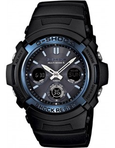 Chic Time | Montre Homme Casio G-Shock AWG-M100A-1AER Noir  | Prix : 199,00 €