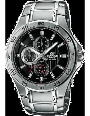 Chic Time | Montre Homme Casio Edifice EF-335D-1AVEF Bracelet Acier Inoxydable  | Prix : 99,90€