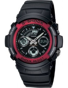 Chic Time | Montre Homme Casio G-Shock AW-591-4AER Noir  | Prix : 99,00 €