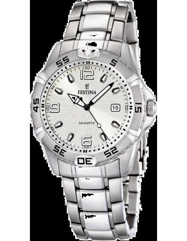 Chic Time | Montre Homme Festina F16636/1 Bracelet Acier Inoxydable  | Prix : 99,00€