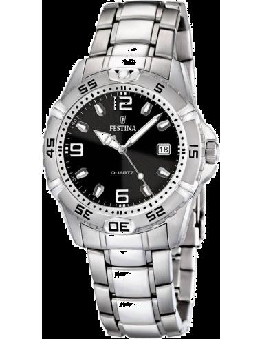 Chic Time   Montre Homme Festina F16636/4 Bracelet Acier Inoxydable    Prix : 99,00€