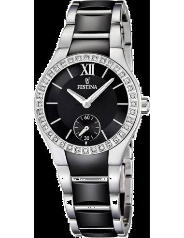 Chic Time | Montre Femme Festina F16637/2 Noir  | Prix : 44,75€