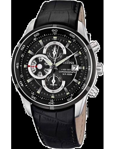 Chic Time | Montre Homme Festina F6821/3 Bracelet Cuir Noir  | Prix : 179,00€