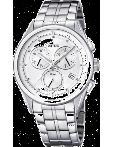 Chic Time | Montre Homme Lotus L15847/1 Argent Bracelet en acier  | Prix : 139,00€