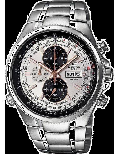 Chic Time | Montre Homme Casio Edifice EFR-506D-7AVEF Bracelet Acier Inoxydable  | Prix : 134,10€