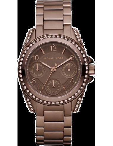 Chic Time | Montre Femme Michael Kors Blair MK5614 Marron  | Prix : 239,20€