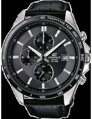 Chic Time   Montre Homme Casio Edifice EFR-512L-8AVEF Noir    Prix : 106,10€