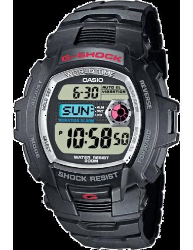 Chic Time | Montre Homme Casio G-Shock G-7500-1VER Bracelet Résine Noir  | Prix : 175,50€