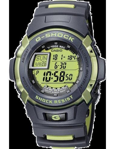 Chic Time | Montre Homme Casio G-Shock G-7710C-3ER Bracelet Résine Noir  | Prix : 84,99€