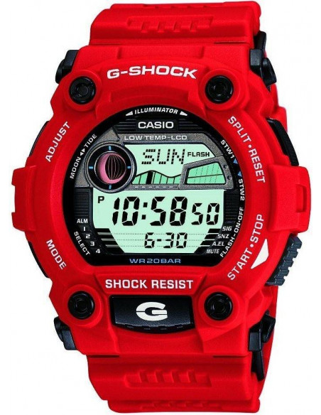 Chic Time | Montre Homme Casio G-Shock G-7900A-4ER Rouge  | Prix : 99,00 €