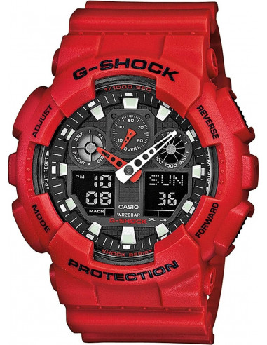 Chic Time | Montre Homme Casio G-Shock GA-100B-4AER  | Prix : 99,00 €