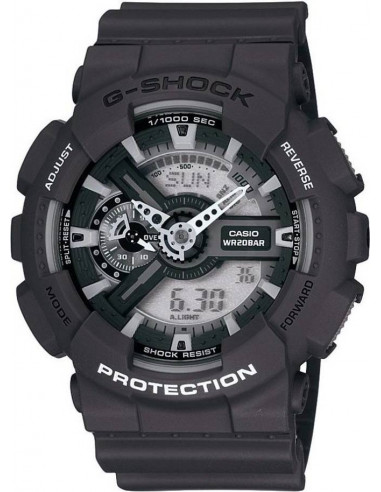 Chic Time | Montre Homme Casio G-Shock GA-110C-1AER Noir  | Prix : 159,00€