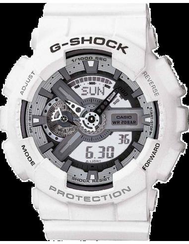 Chic Time | Montre Homme Casio G-Shock GA-110C-7AER Blanc  | Prix : 129,00€