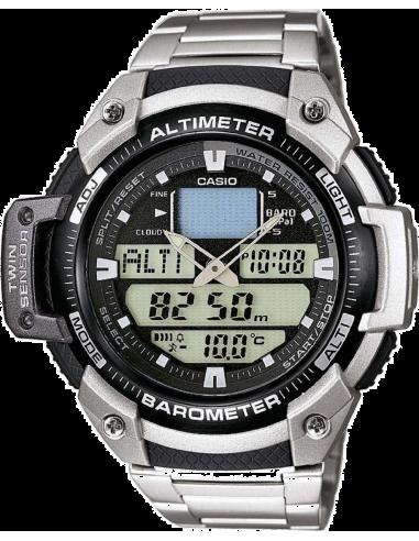 Chic Time | Montre Homme Casio ProTrek SGW-400HD-1BVER Argent  | Prix : 100,00€