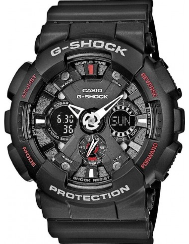Chic Time | Montre Homme Casio G-Shock GA-120-1AER  | Prix : 129,00€
