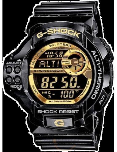 Chic Time | Montre Homme Casio G-Shock GDF-100GB-1ER Noir  | Prix : 152,10€