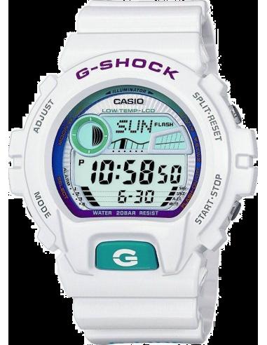 Chic Time | Montre Homme Casio G-Shock GLX-6900-7ER Bracelet Résine Blanc  | Prix : 89,90€