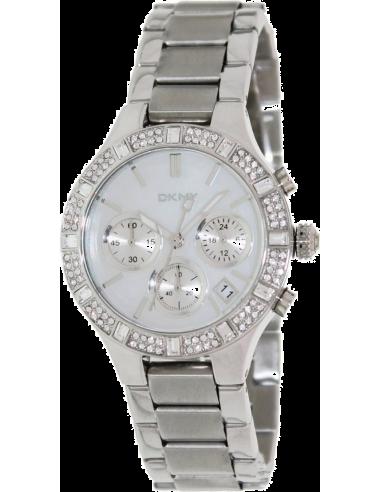 Chic Time | Montre Femme DKNY NY8057 Argent  | Prix : 197,10€