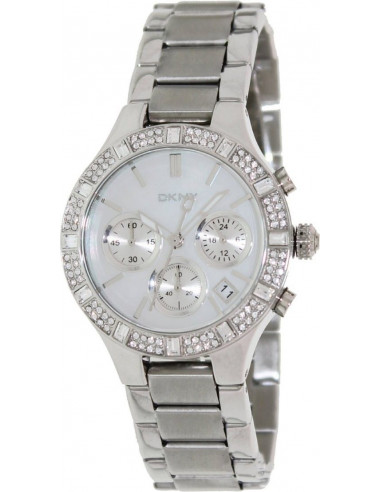 Chic Time | Montre Femme DKNY NY8057 Argent  | Prix : 197,10 €