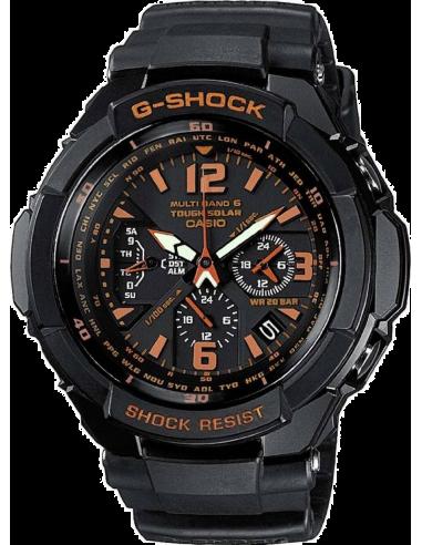 Chic Time | Montre Homme Casio G-Shock GW-3000B-1AER Bracelet Résine Noir  | Prix : 377,10€
