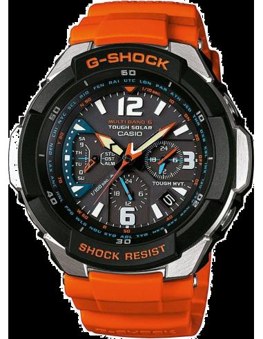 Chic Time | Montres hommes supprimées Casio G-Shock GW-3000M-4AER Orange  | Prix : 249,00€