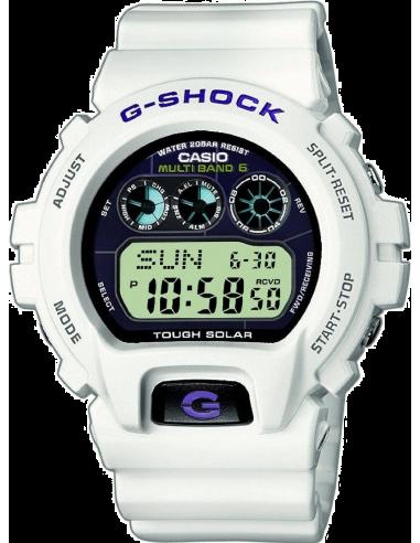 Chic Time | Montre Homme Casio G-Shock GW-6900A-7ER Blanc  | Prix : 109,10€