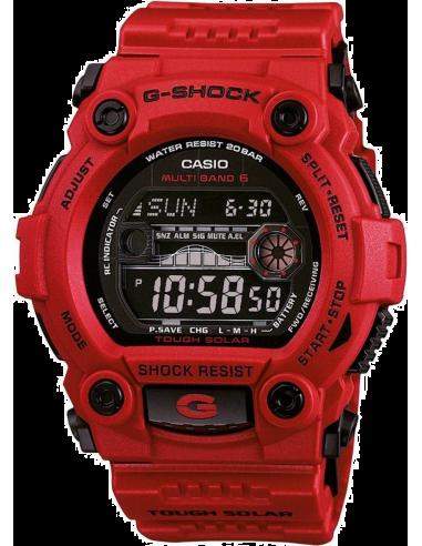 Chic Time   Montre Homme Casio G-Shock GW-7900RD-4ER Rouge    Prix : 206,10€