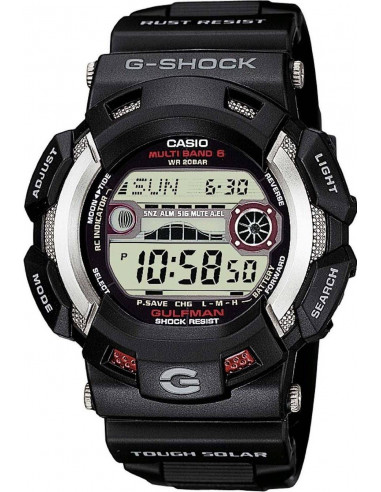 Chic Time   Montre Homme Casio G-Shock GW-9110-1ER Noir    Prix : 199,00€