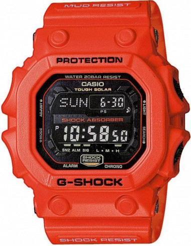 Chic Time | Montre Homme Casio G-Shock GX-56-4ER Rouge  | Prix : 149,90 €