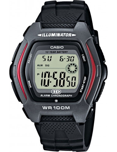 Chic Time | Montre Homme Casio HDD-600-1AVES Noir  | Prix : 37,00€