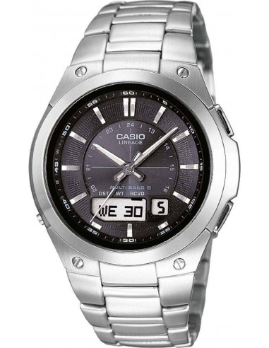 Chic Time   Montre Homme Casio Wave Ceptor Radio Controlled LCW-M150D-1AER    Prix : 225,00€