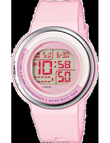 Chic Time | Montre Femme Casio LDF-30-4AEF Rose  | Prix : 31,40€