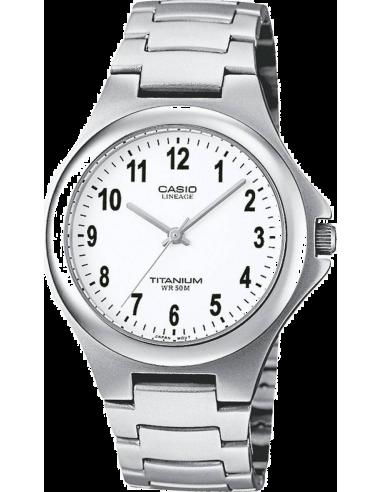 Chic Time | Montre Homme Casio Lineage LIN-163-7BVEF Bracelet Titane  | Prix : 34,50€