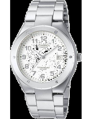 Chic Time   Montre Homme Casio Lineage LIN-164-7AVEF Bracelet Titane    Prix : 58,50€