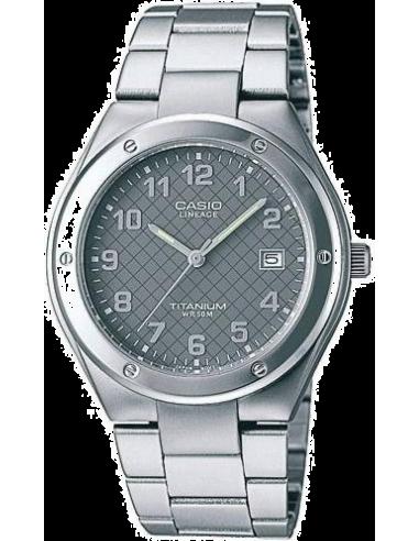 Chic Time | Montre Homme Casio Lineage LIN-164-8AVEF Bracelet Titane  | Prix : 60,00€