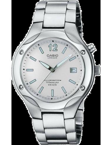 Chic Time | Montre Homme Casio Lineage LIN-165-8BVEF Bracelet Titane  | Prix : 71,90€