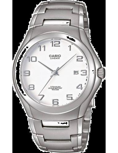 Chic Time | Montre Homme Casio Lineage LIN-168-7AVEF Bracelet Titane  | Prix : 53,00€