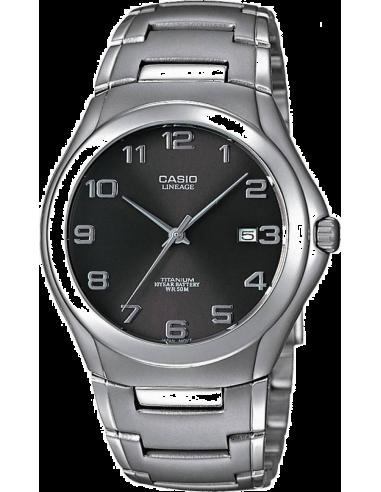 Chic Time   Montre Homme Casio LIN-168-8AVEF Argent    Prix : 77,00€