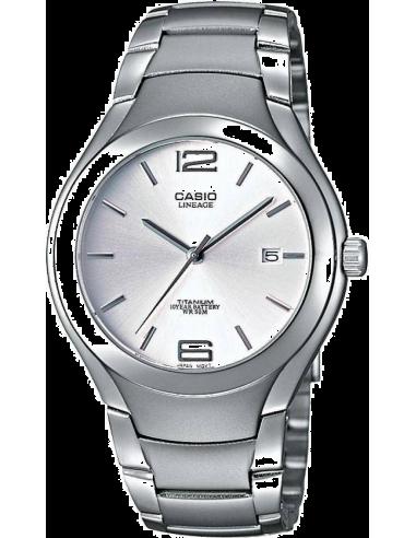 Chic Time | Montre Homme Casio Lineage LIN-169-7AVEF Bracelet Titane  | Prix : 74,99€