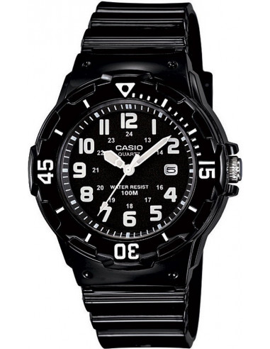 Chic Time | Montre Femme Casio Collection LRW-200H-1BVEF Noir  | Prix : 19,10 €