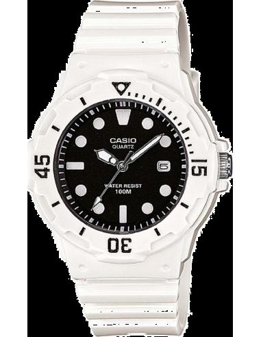 Chic Time | Montre Femme Casio Collection LRW-200H-1EVEF Blanc  | Prix : 20,10€