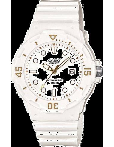 Chic Time   Montre Femme Casio Collection LRW-200H-7E2VEF Blanc    Prix : 24,90€