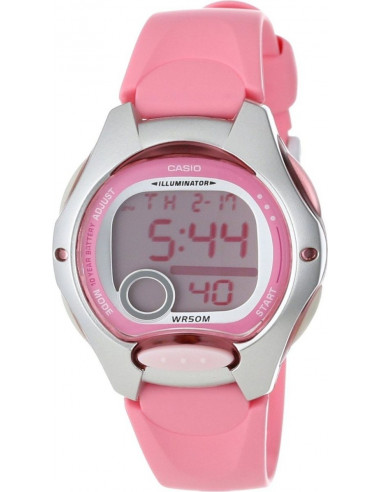Chic Time | Montre Femme Casio Collection LW-200-4BVEF Rose  | Prix : 20,99 €