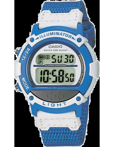 Chic Time   Montre Casio Collection LW-23HB-2AVES 3,5cm Bracelet tissé bleu    Prix : 32,10€