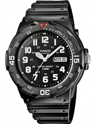 Chic Time | Montre Casio Collection MRW-200H-1BVEF Noire  | Prix : 35,00 €