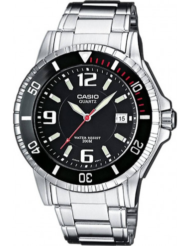 Chic Time | Montre Homme Casio Collection MTD-1053D-1AVES Argent  | Prix : 48,00 €