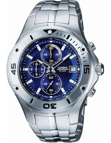 Chic Time | Montre Homme Casio Collection MTD-1057D-2AVES Argent  | Prix : 115,00 €